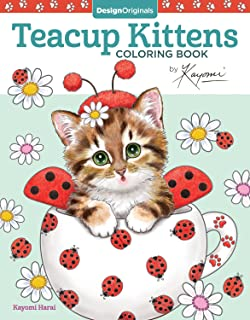 Amazoncom Creative Haven Creative Kittens Coloring Book Adult - 32 adorable photos cats growing