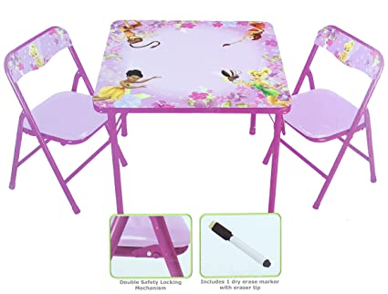 Kids Only Disney Fairies Erasable Table \u0026 Chair Set  sc 1 st  Amazon.com & Amazon.com: Kids Only Disney Fairies Erasable Table \u0026 Chair Set ...