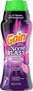 GAIN Fireworks, Scent Blast, in-wash Scent Booster Beads, Midnight Bloom, 13.5 oz