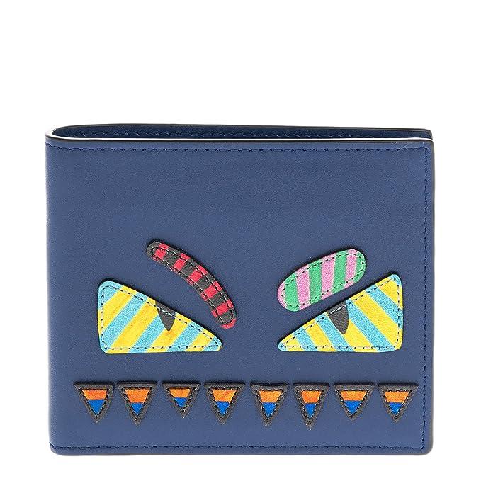 58021c9837 Fendi Bag Bugs Wallet Blue: Amazon.ca: Clothing & Accessories
