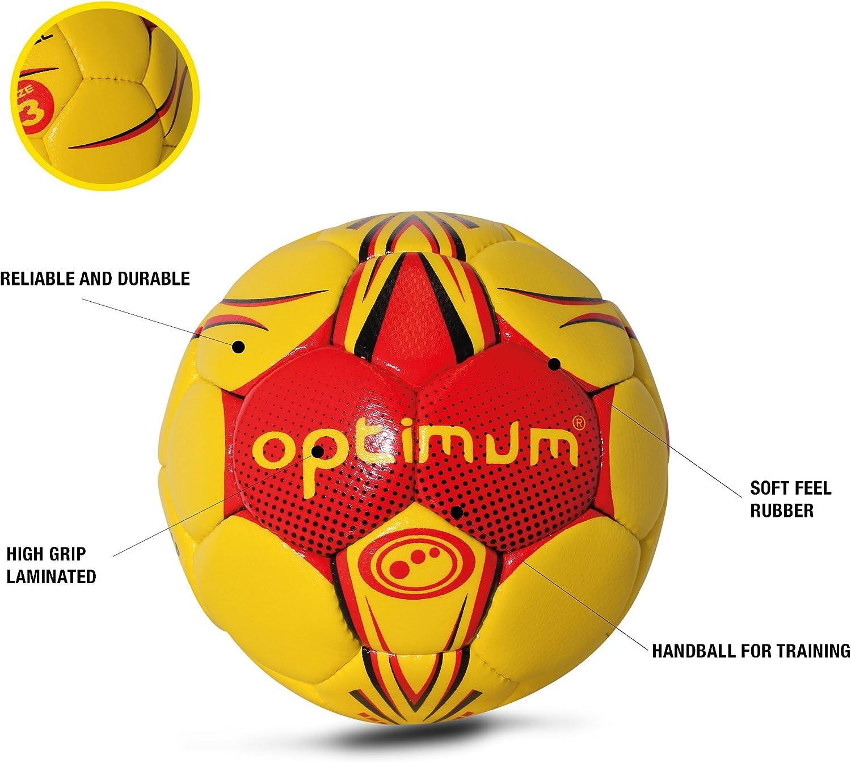OPTIMUM - Balón de Balonmano para Hombre: Amazon.es: Deportes y ...
