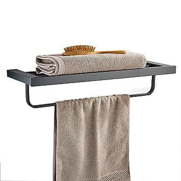 Toalla de baño estante con móviles Bar 24 inch acero inoxidable baño D ¨ ¦ cor
