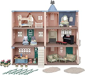 Calico Critters Deluxe Celebration Home Premium Set, Collectible Dollhouse, 35th Anniversary, Limited Edition (Amazon Exclusive)