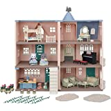 Calico Critters Deluxe Celebration Home Premium Set, Collectible Dollhouse, 35th Anniversary, Limited Edition (Amazon Exclusi