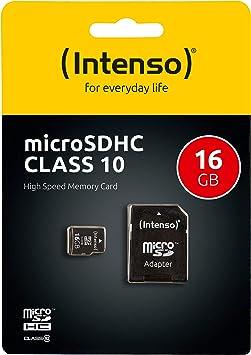 Intenso Class 10 Flash Speicherkarte 16 Gb Class Elektronik