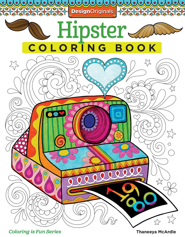 Hipster Coloring Book (Design Originals): Thaneeya McArdle ...