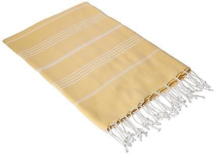 Cacala 100% puro algodón Lujo Türkisches baño hammam – Toallas de mano – suave y