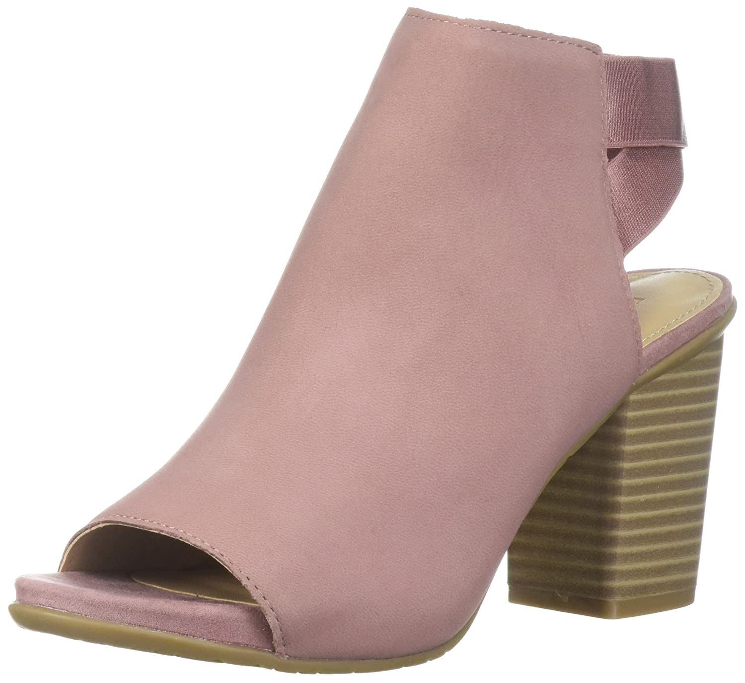 Kenneth Cole REACTION Women's Fridah Fly Toe and Open Heel Bootie Ankle Boot B076FJ6G8P 8.5 B(M) US|Guava