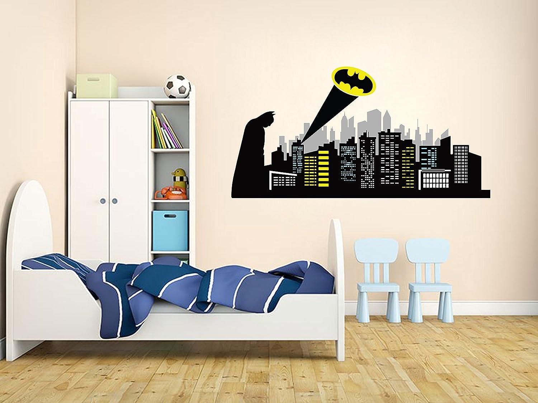 Batman Gotham Name Series Wall Decal Nursery Vinyl Sticker for Home Decor