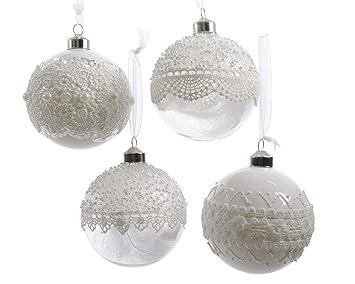 Weihnachtsdeko Globus.Christbaumkugeln Figuren 20er Set Im Box Weihnachtskugeln Glas