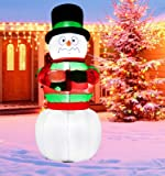 B.N.X 6 Ft LED Light Inflatable Christmas