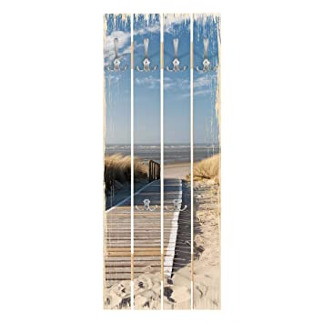 Bilderwelten Perchero de madera - Top Maritime & Shabby ...