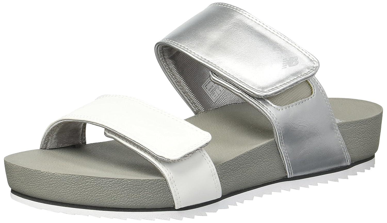 New Balance Women's City Slide Sandal B074JQHHY9 7 B(M) US|Silver