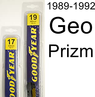 "product image for Geo Prizm (1989-1992) Wiper Blade Kit - Set Includes 19"" (Driver Side), 17"" (Passenger Side) (2 Blades Total)"