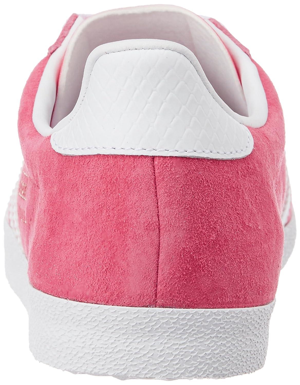 Adidas Gazelle OG W, Zapatillas de Deporte para Mujer, Rosa/Blanco/D Orado (Rosexu/Ftwbla/Dormet), 42 2/3 EU