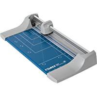 """Dahle 507 Personal Rolling Trimmer, 12.5"""" Cut Length, 7 Sheet Capacity, Self-Sharpening, Automatic Clamp, German Engineered Paper Cutter"""