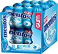 Mentos Gum, Pure Fresh Mint, 50-Count (Pack of 6)