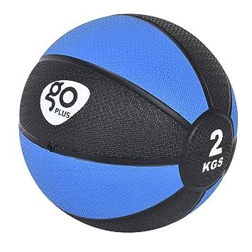 febff374dc95c FDS Goplus Medizinball Gummimedizinball Gewichtsball Gymnastikball  Fitnessball Gewicht 2-10kg (2 kg φ19