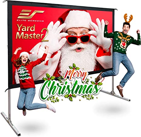 Amazon.com: Elite Screens Yardmaster 2 Dual, OMS135H2-Dual ...