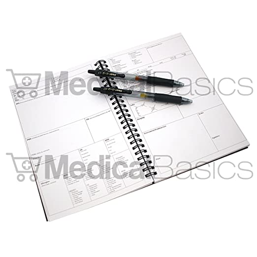 AmazonCom  HP Notebook  Medical History And Physical Notebook