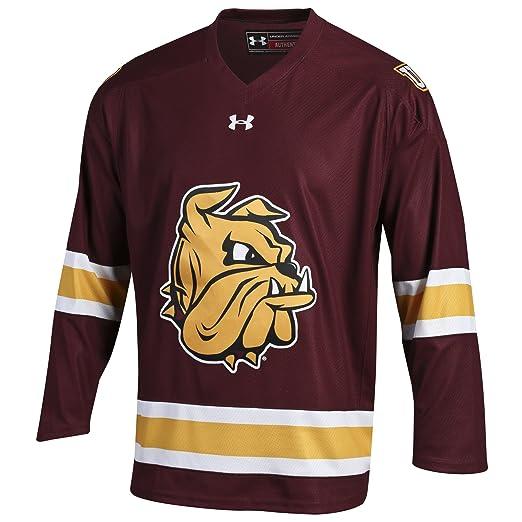 reputable site 398cc 9b129 Amazon.com : Under Armour Minnesota Hockey Men's Replica ...