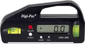 Digi-Pas DWL80E 0.1 -Inclinómetro: Amazon.es: Bricolaje y ...