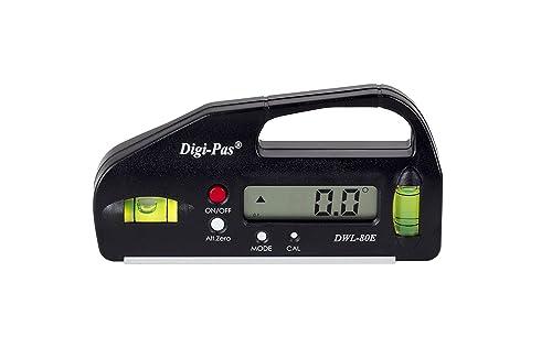 Best Mini Digital Level - DigiPas DWL80E Pocket Size Digital Level
