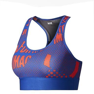 15d0d6695a adidas Women Stellasport Bra Training Printed Stella McCartney Running  (Small A B)