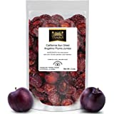 Traina Home Grown California Sun Dried Jumbo Angelino Plums - No Sugar Added, Non GMO, Gluten Free, Kosher Certified, Vegan, Packed in Resealable Pouch (2 lbs)