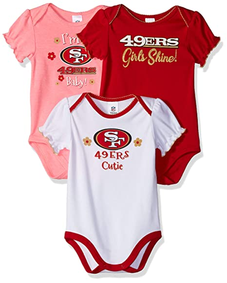 Image Unavailable. Image not available for. Color  NFL San Francisco 49Ers  Baby-Girls ... 49b268bcb
