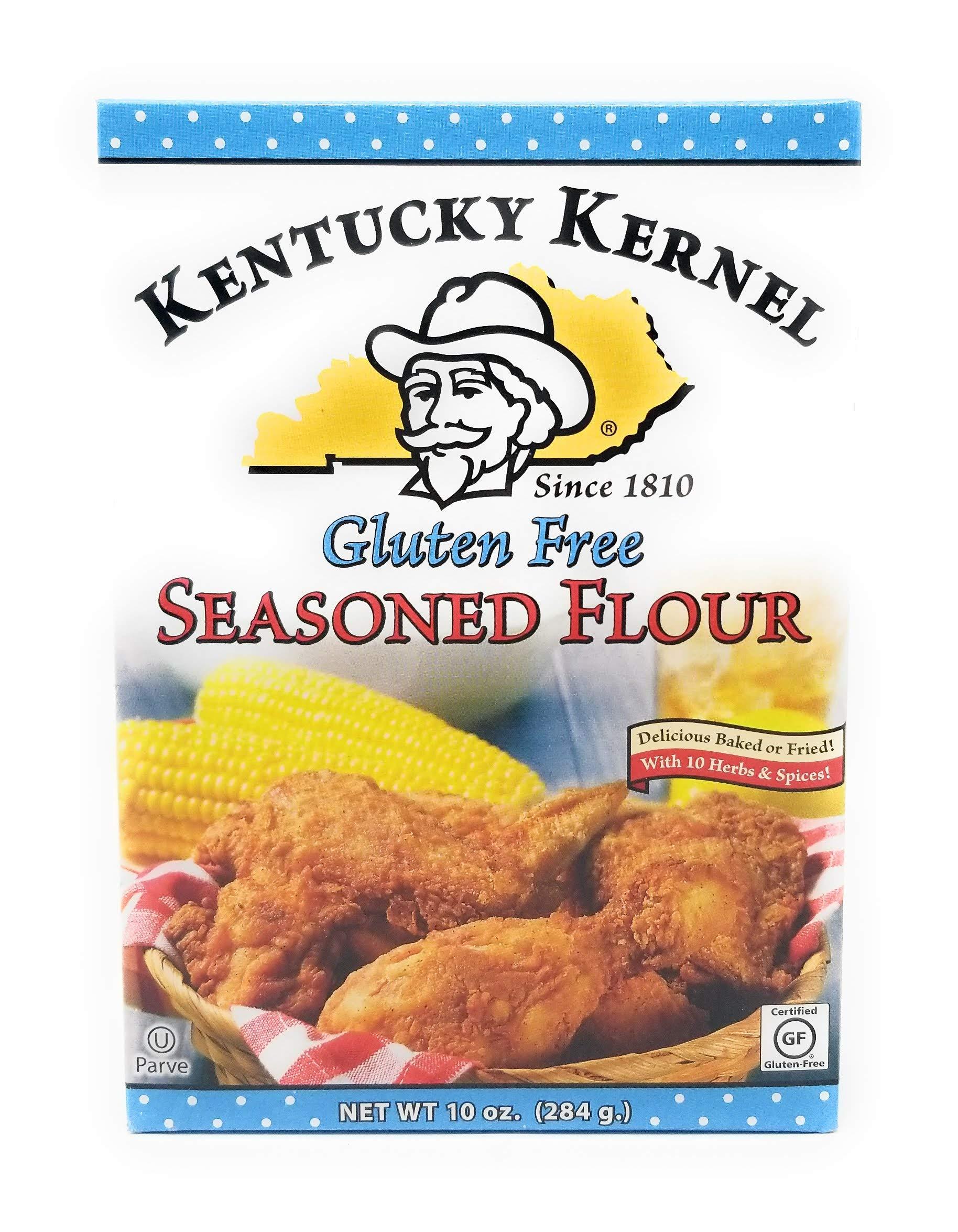 Kentucky Kernal Flour Seasoned Gf, 10-Ounce (Pack of 6)