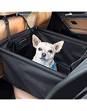LIONSTRONG Hunde Autositz, kleine bis mittlere Hunde, Hundesitz wasserdicht, Hundedecke, Einzelsitz für die Rückbank +inkl Gratis Sicherheitsgurt für den Hund