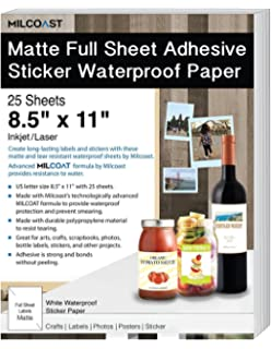 5X Magnetic Sheets A4 x 0.6mmSelf AdhesiveWedding Card Poster Label Fridge