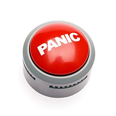 Prank Panic Button With Screaming Effect: Toys & Games
