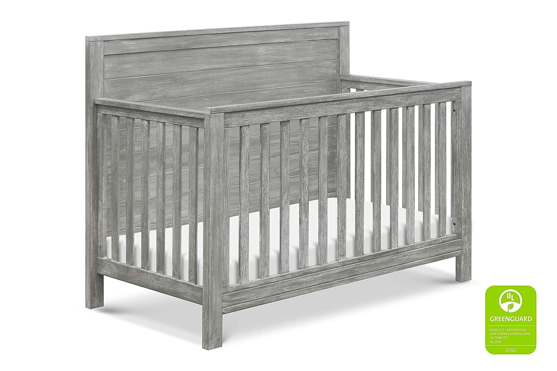 DaVinci Fairway 4-in-1 Convertible Crib in Cottage Grey   Greenguard Gold Certified