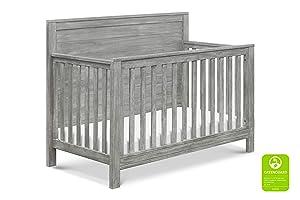 DaVinci Fairway 4-in-1 Convertible Crib in Cottage Grey | Greenguard Gold Certified