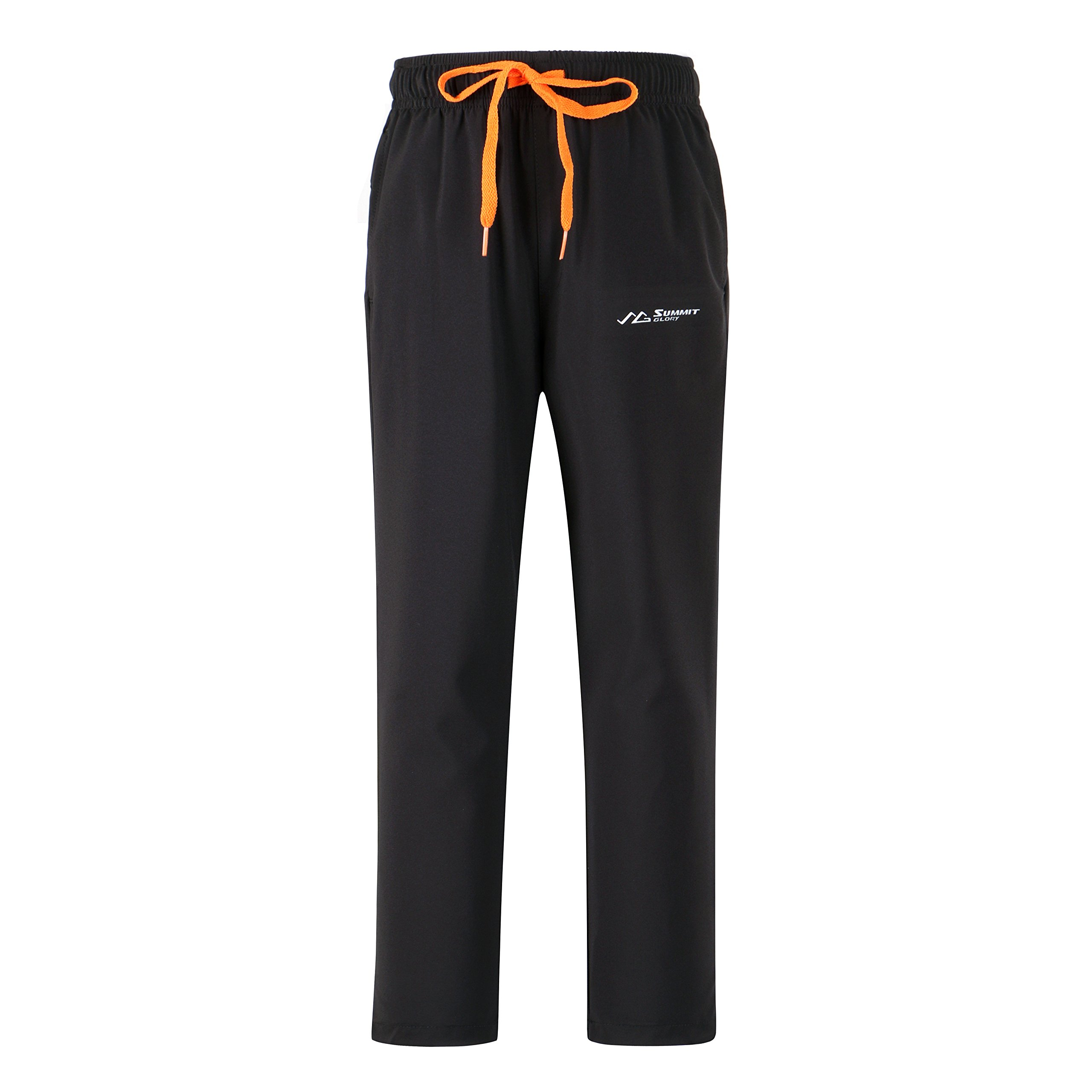 Summit Glory Lightweight Mountain Hiking Breathable Perfomance Utility Pants Black XL
