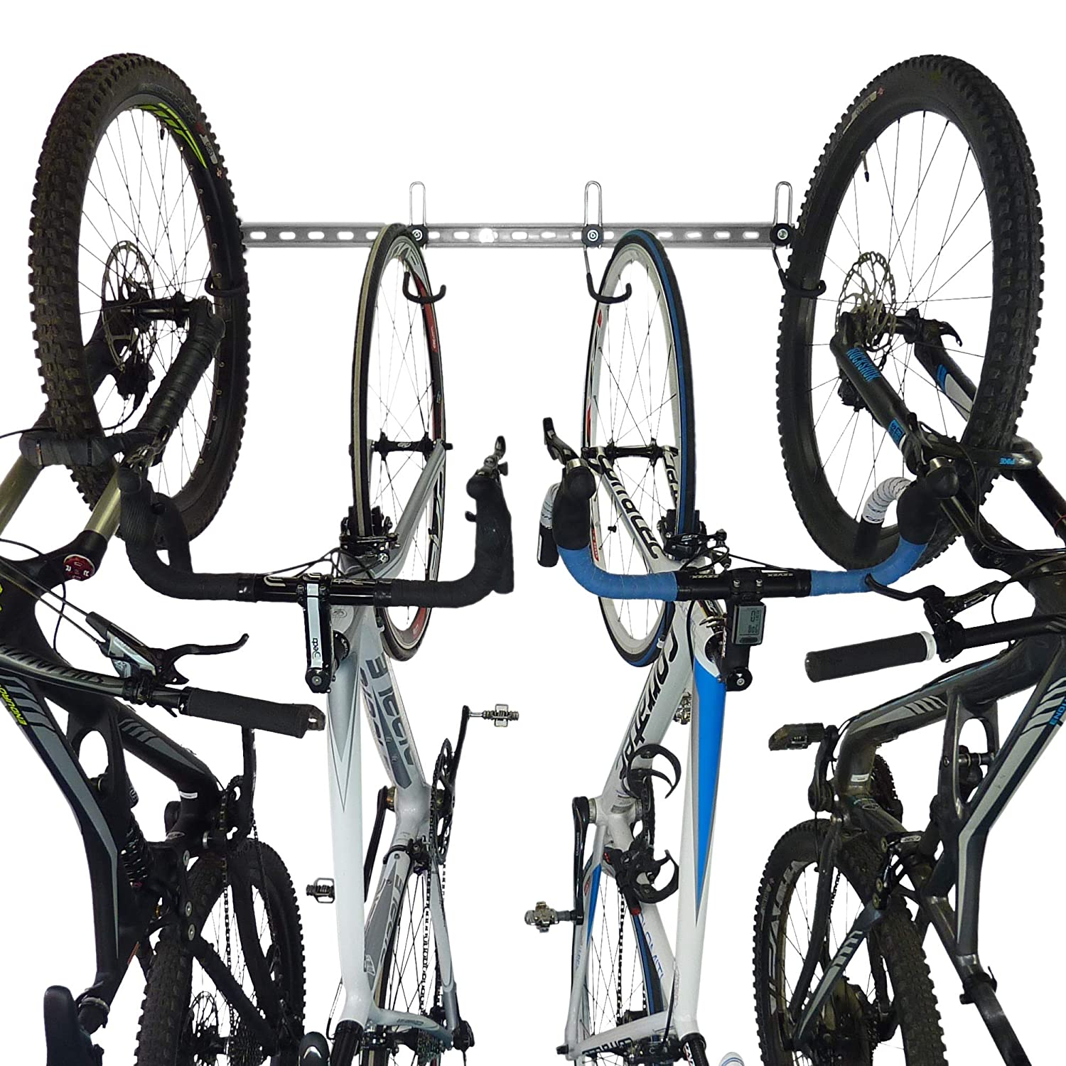 GearHooks Bike Storage Rack   Modular Bike Wall mount Storage System, Heavy Duty & Made In The UK   For Use with All Bikes Including Mountain Bikes & Road Bikes