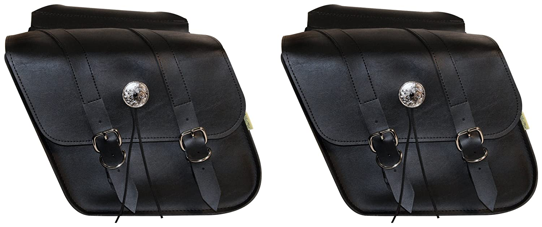 Willie & MaxデラックスSlant and Compact Slant Saddlebags – コンパクト傾斜sb707 – 05 12\  B007CXFYW2