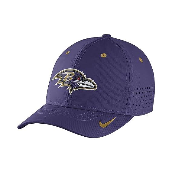 Nike Legacy Vapor Swoosh Flex (NFL Ravens) Gorra para hombre ...