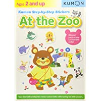 At the Zoo: Kumon Step-By-Step Stickers