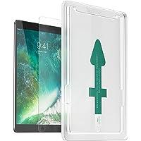XeloTech Panzerglas mit Schablone für iPad Pro 10.5 Zoll - Einfache & Schnelle Installation der Panzerglasfolie - Kompatibel mit Hülle & Case - Unsichtbarer Displayschutz