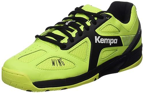 Kempa Wing Junior Caution, Zapatillas de Balonmano Unisex para Niños: Amazon.es: Zapatos y complementos