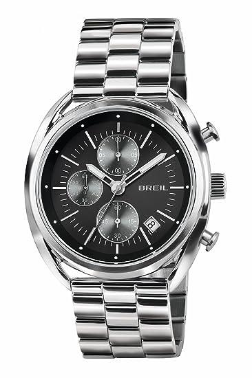 Breil Reloj Cronógrafo para Hombre de Cuarzo con Correa en Acero Inoxidable TW1514: Amazon.es: Relojes