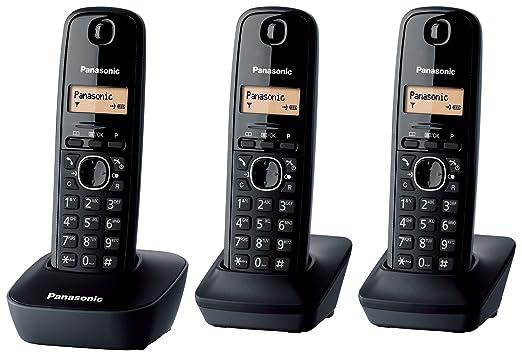 433 opinioni per Panasonic KX-TG1613 Telefono Cordless Domestico, Trio, Nero