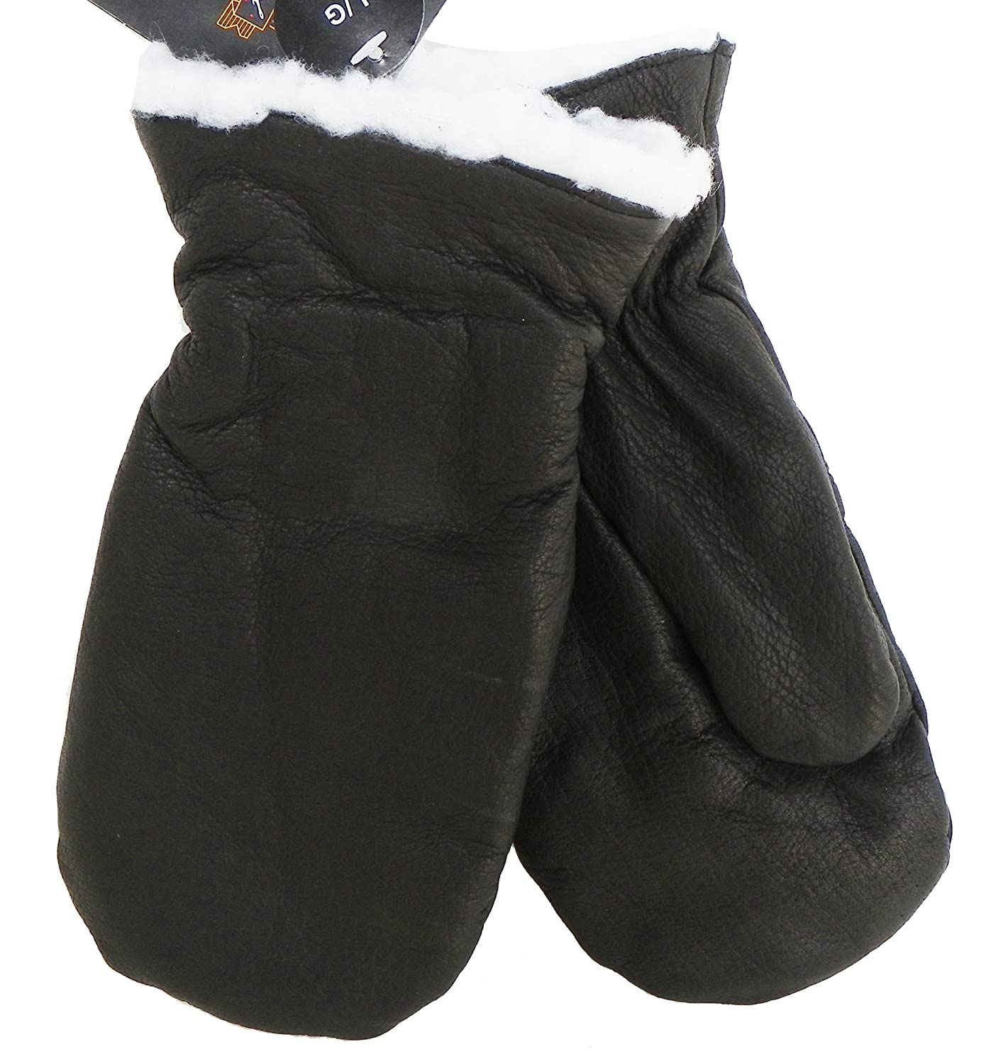 Klondike Youth Chopper Mittens Winter Leather Gloves Hockey Mitt