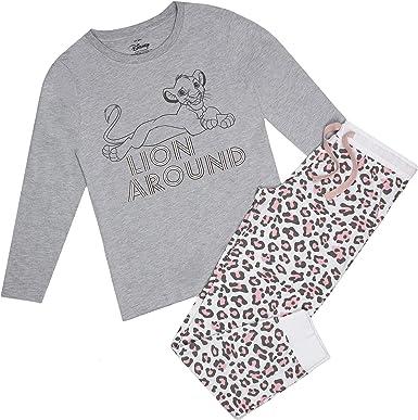 Disney King Lion Around Pyjama Set Juego de Pijama para Mujer ...