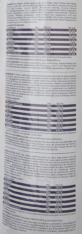 Amazon.com : Hills Prescription Diet c/d Feline Urinary Tract Multicare, Chicken - 17.6lb : Pet Food : Pet Supplies