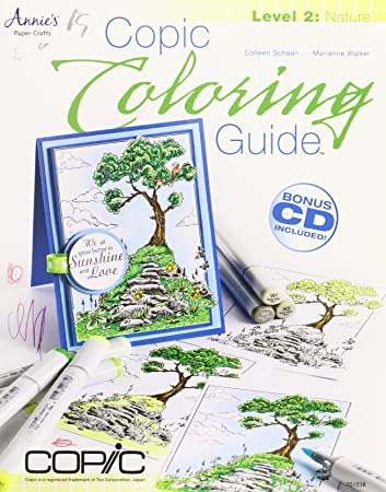 Copic Coloring Guide Level 2: Nature: Colleen Schaan, Marianne ...