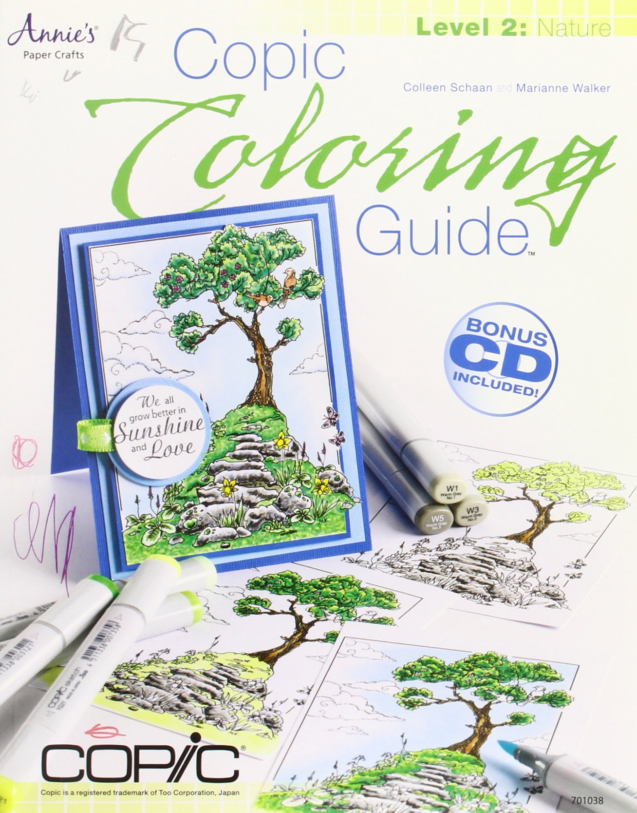 Copic Coloring Guide Level 2: Nature: Amazon.de: Colleen ...